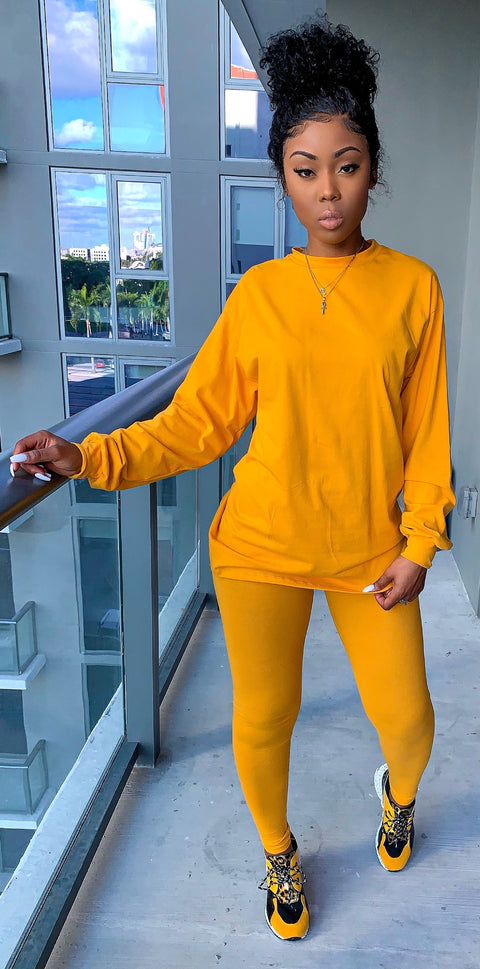 Casual Ting (Mustard) - MuurSwagg