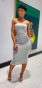 The Gisele Midi Dress (Sand)