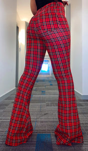 Clueless Flared Pants (Red)