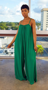 CasaBlanca Jumpsuit (Green)