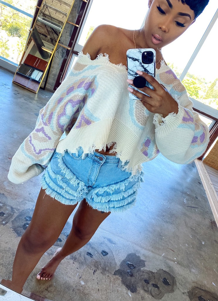 Hottie Tottie Denim Shorts