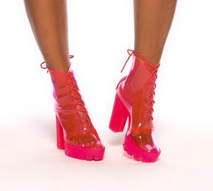 Pink Friday Booties - MuurSwagg