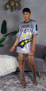 The World Is Yours Dress