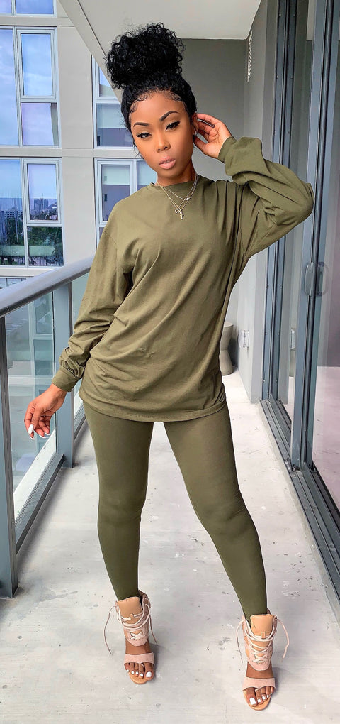 Casual Ting (Olive)
