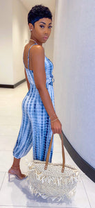 Too Cute Jumpsuit (Blue Shadow) - MuurSwagg