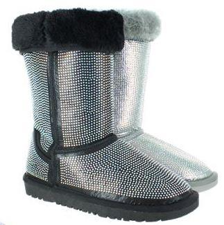 Bling'd Out Fur Boots