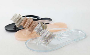 Bling Jelly Sandals - MuurSwagg