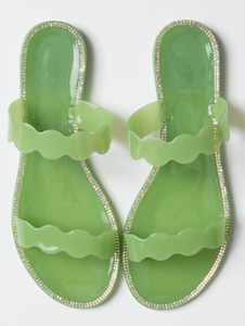 Wavy Jelly Sandals - MuurSwagg