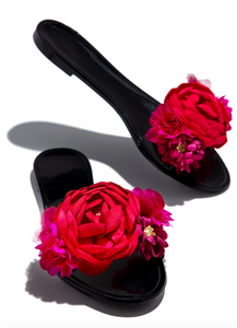 Shower Me With Flowers Sandals - MuurSwagg