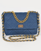 Load image into Gallery viewer, Craving Denim Clutch Bag