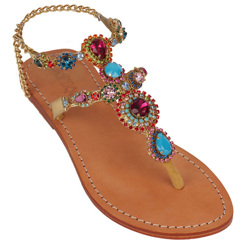 Exotic Jewel Sandals - MuurSwagg
