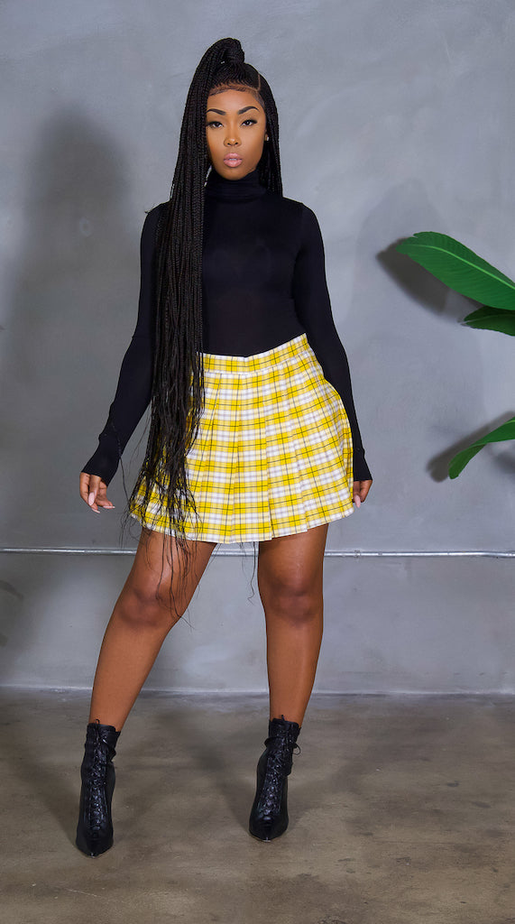 Good Girl Gone Plaid (Yellow)