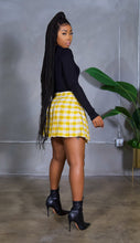 Load image into Gallery viewer, Good Girl Gone Plaid (Yellow)