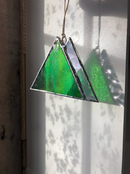 Mountain Ornaments • Stained Glass