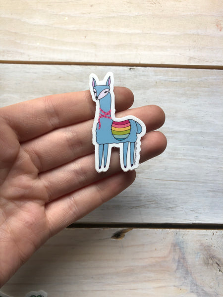 Little Llama sticker