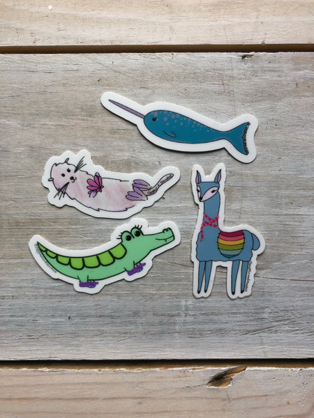 Little guys sticker pack