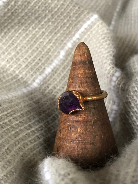 Amethyst Ring size 5.25