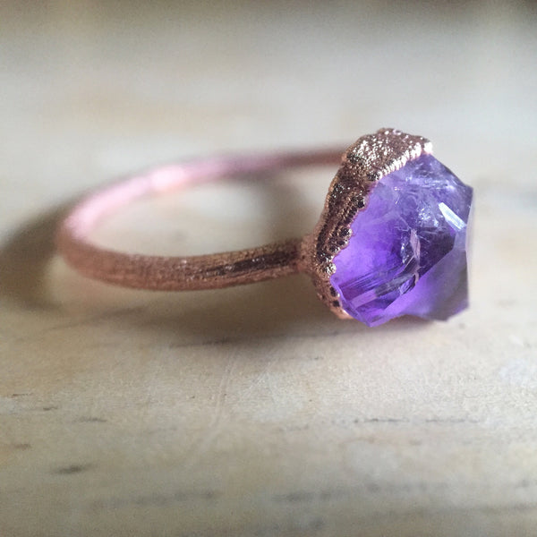 Custom order your own Amethyst Ring