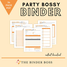 Load image into Gallery viewer, Party Bossy Binder™