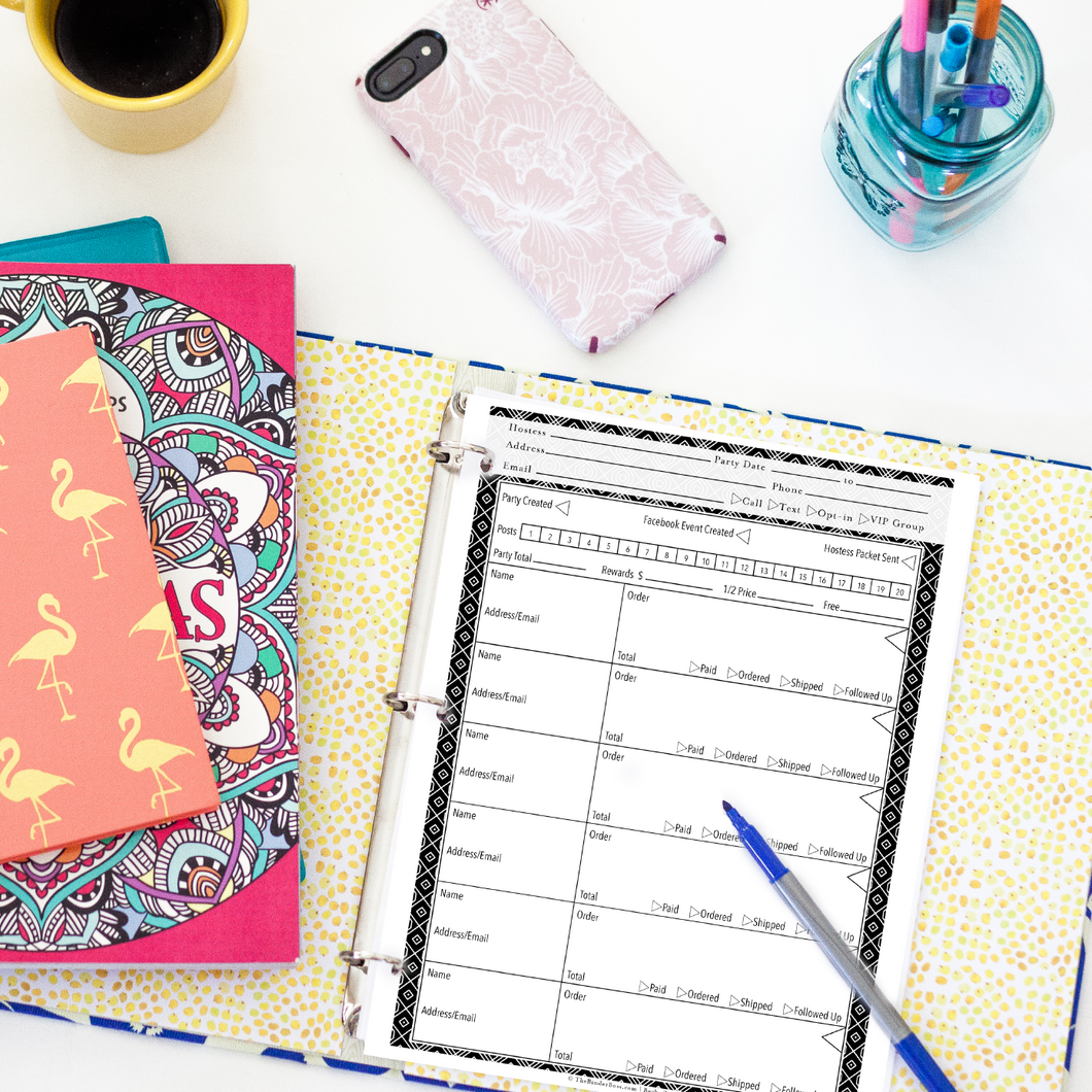 Party Bossy™ Planner for Direct Sellers