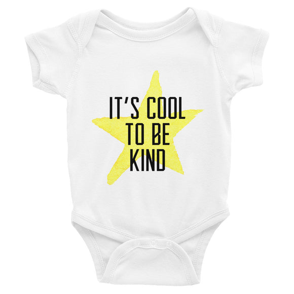 It's Cool to be Kind Baby Onesie