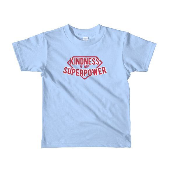 Kindness Is My Superpower Kids Tee