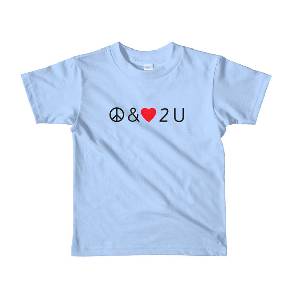 Peace & Love Kids Tee