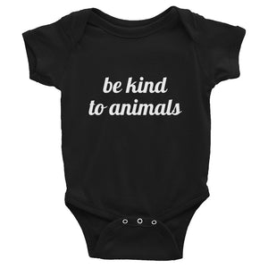Be Kind to Animals Baby Onesie
