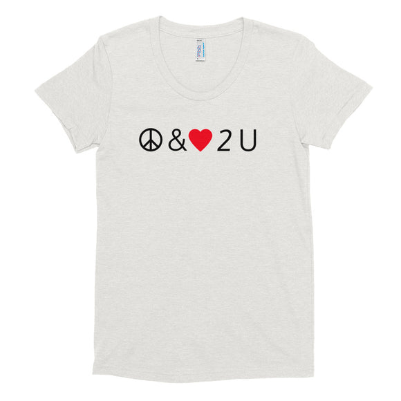 Peace & Love Women's Tee