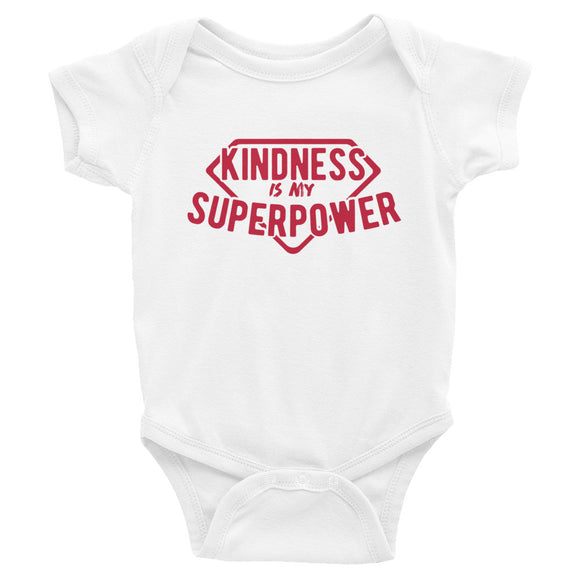 Kindness Is My Superpower Baby Onesie