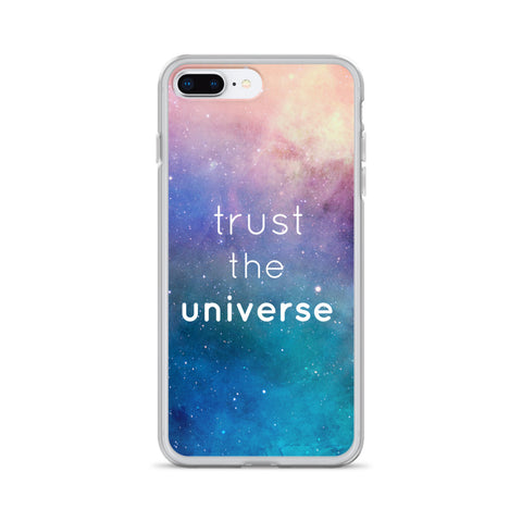 Trust the Universe iPhone Case