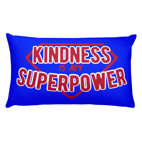 Kindness Is My Superpower Rectangular Pillow