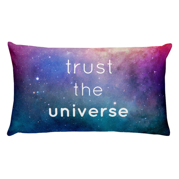 Trust the Universe Rectangular Pillow