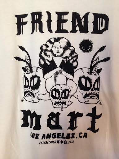 Friend Mart Tee- white