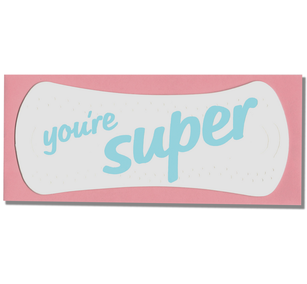 You're Super Pad Card