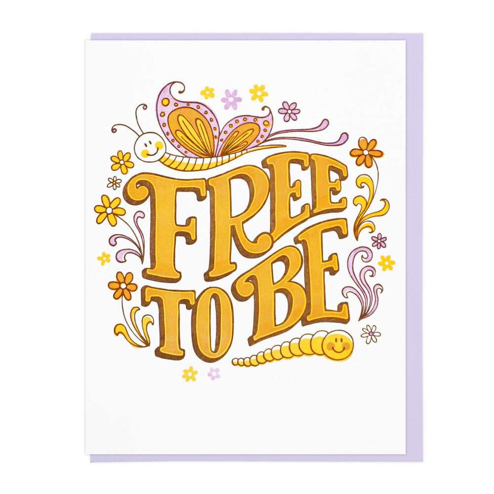 Free to Be Card