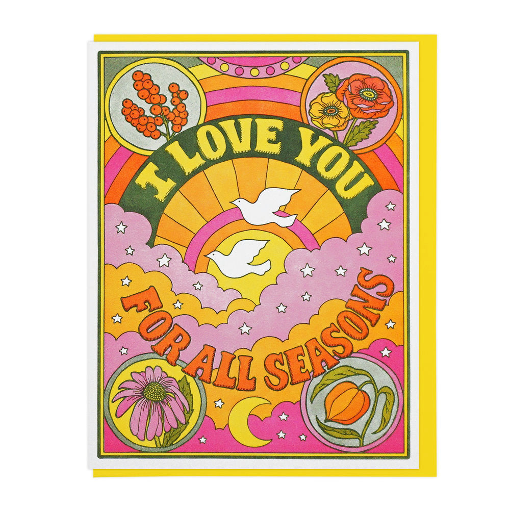 I Love You For All Seasons Card