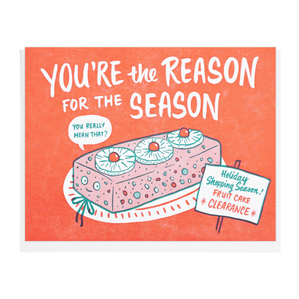 Fruitcake Season Card