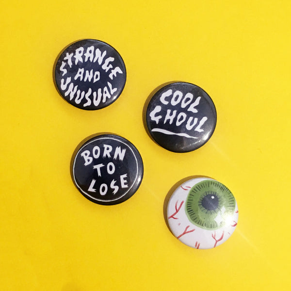 25mm Pippa Toole Badges
