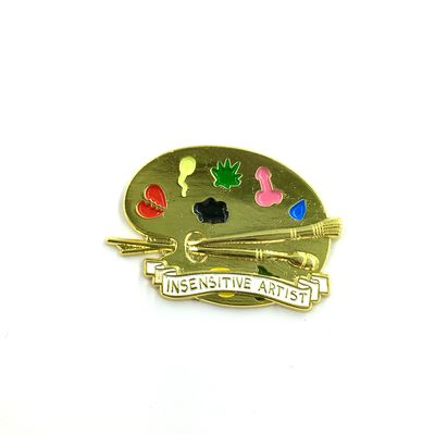 Insensitive Artist Pin