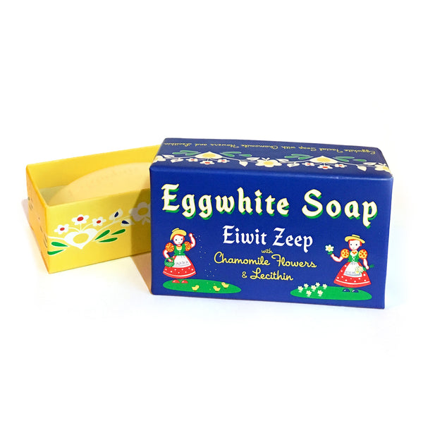 Egg White Soap Eiwit Zeep with Chamomile