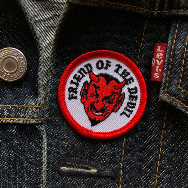 Friend Of The Devil - Mini Patch