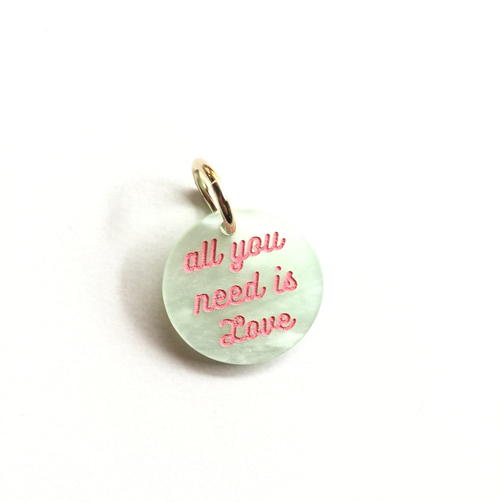 All You Need Is Love Mini Keychain