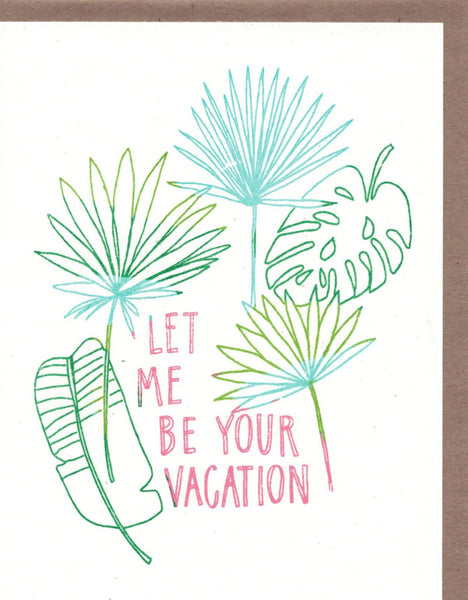 Be Your Vacation Card