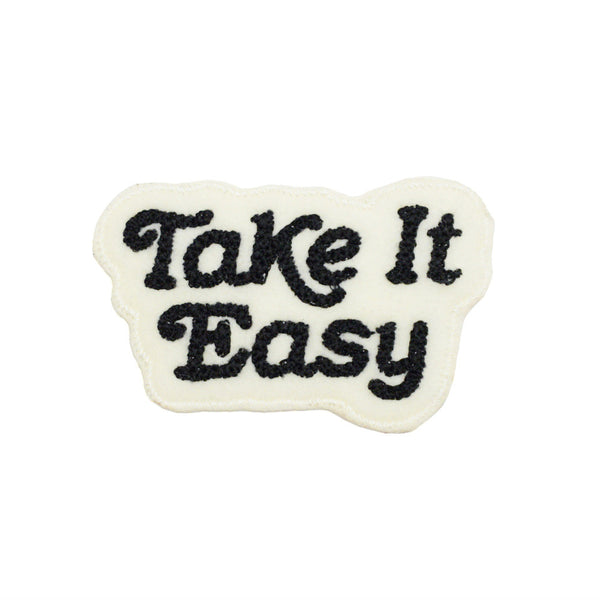 Take It Easy Patch - Black