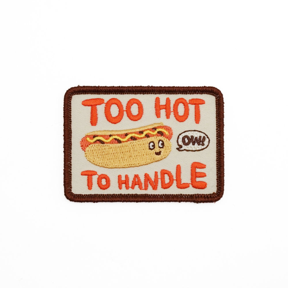 Hot Dog Embroidered Patch