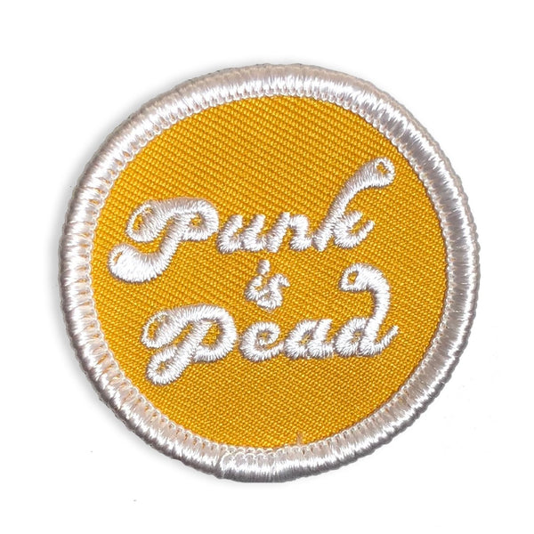 Punk Is Dead - Mini Patch
