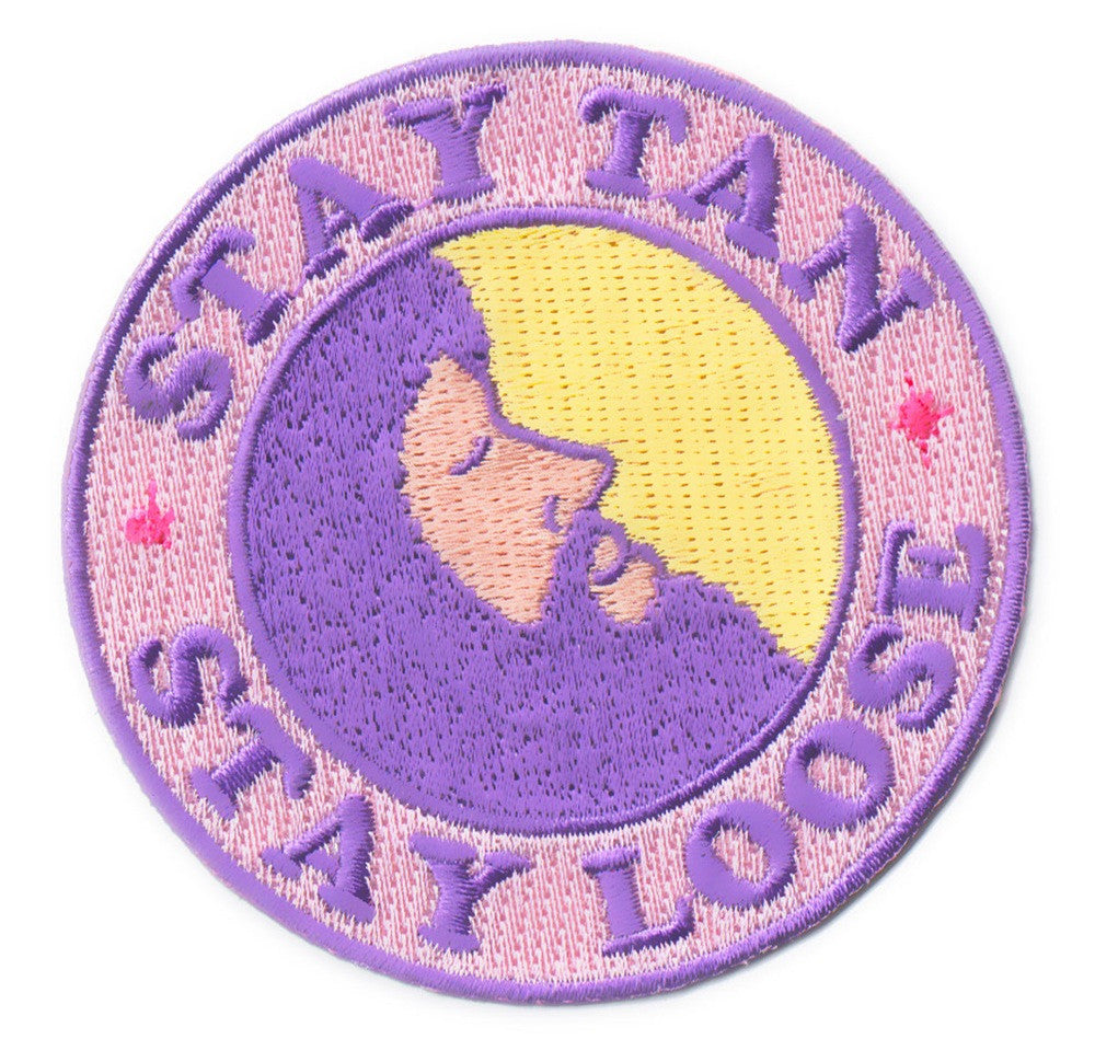 Stay Tan Stay Loose Patch