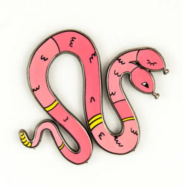 Twins Snakes Pin