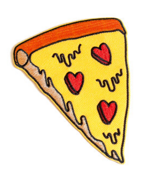 Pizza My Heart Iron On Patch